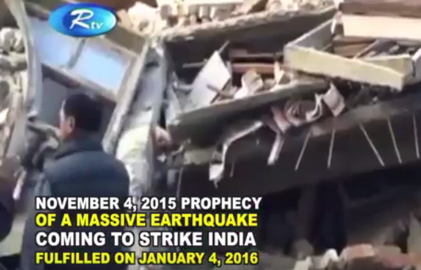 India-Earthquake-2016-Prophecy-Fulfilled-Prophet-Dr.Owuor