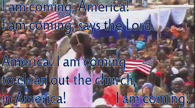Prophet Owuor America Prophecy